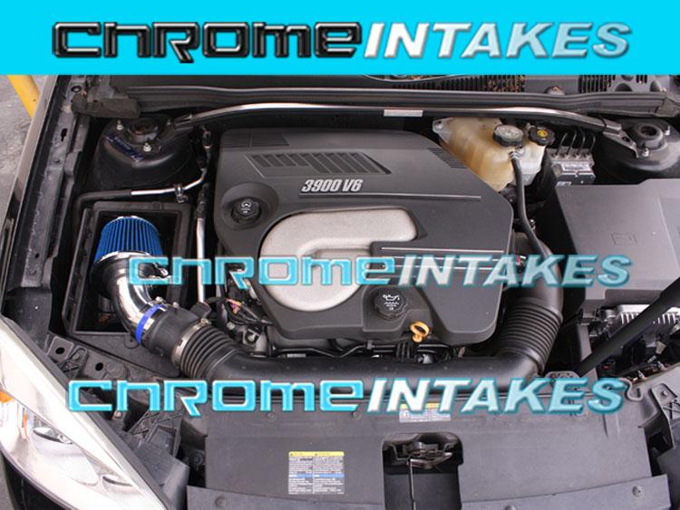 04 05 06 07 08 09 10 CHEVY MALIBU PONTIAC G6 3.5L V6 FULL AIR INTAKE KIT+CHF Red
