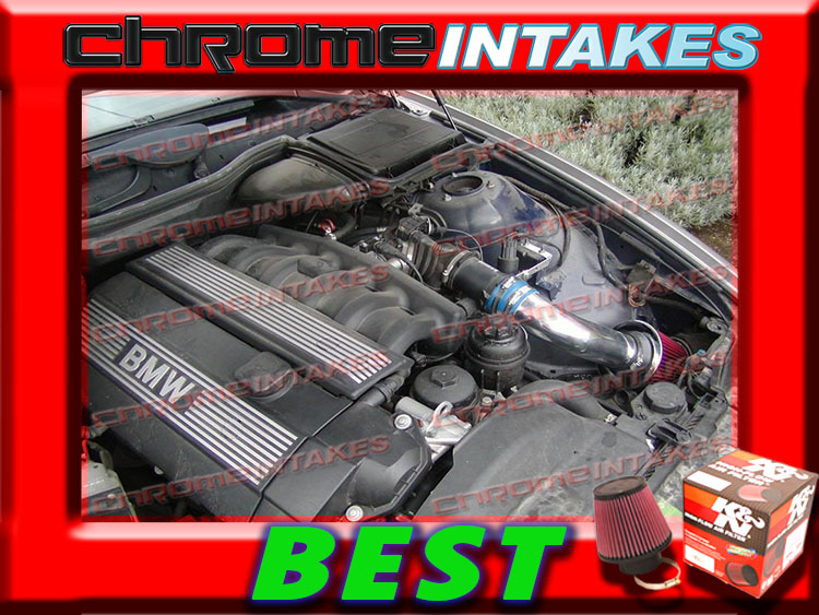 97 98 99 00 01 02 BMW Z3 2.3L 2.5L 2.8L 3.0L E36 AIR INTAKE KIT+K/&N Black Red