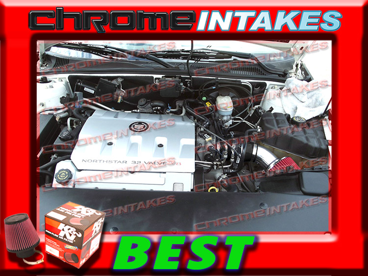 K/&N+BLACK RED 93 94 1993 1994 CADILLAC SEVILLE STS//SLS 4.6L V8 AIR INTAKE KIT