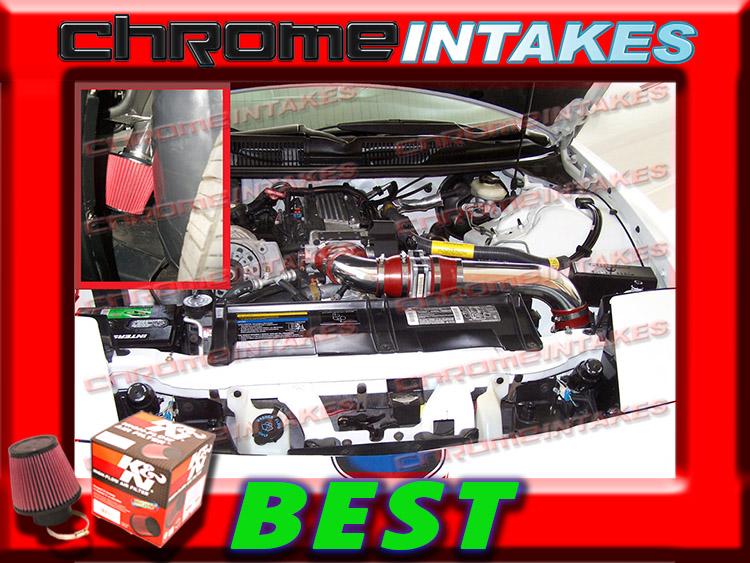 94-97 CAMARO Z28 FIREHAWK FORMULA TRANS AM 5.7L V8 COLD AIR INTAKE KIT K/&N Red