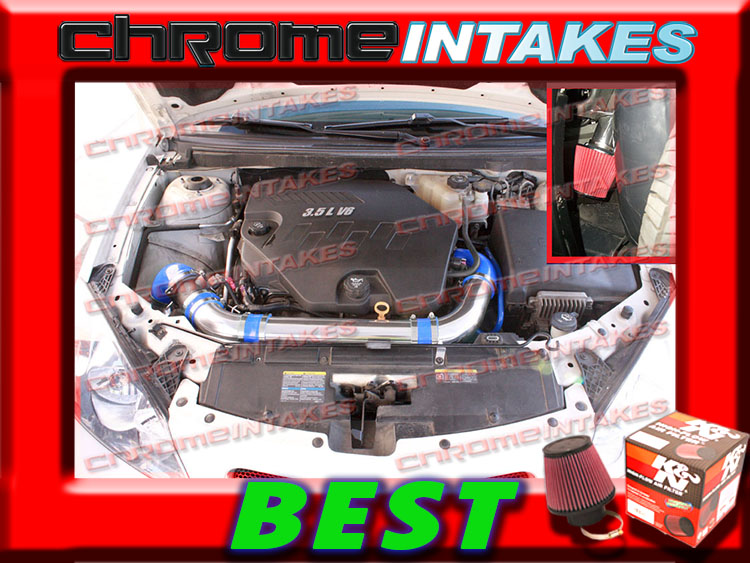 K/&N+BLACK RED 05 06-10 CHEVY COBALT BASE//LS//LT//XFE 2.2 2.2L I4 FULL AIR INTAKE