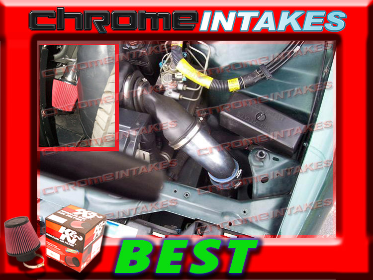 RED COLD AIR INDUCTION INTAKE KIT+FILTER FOR CHEVY 95-97 CAMARO 3.8L V6
