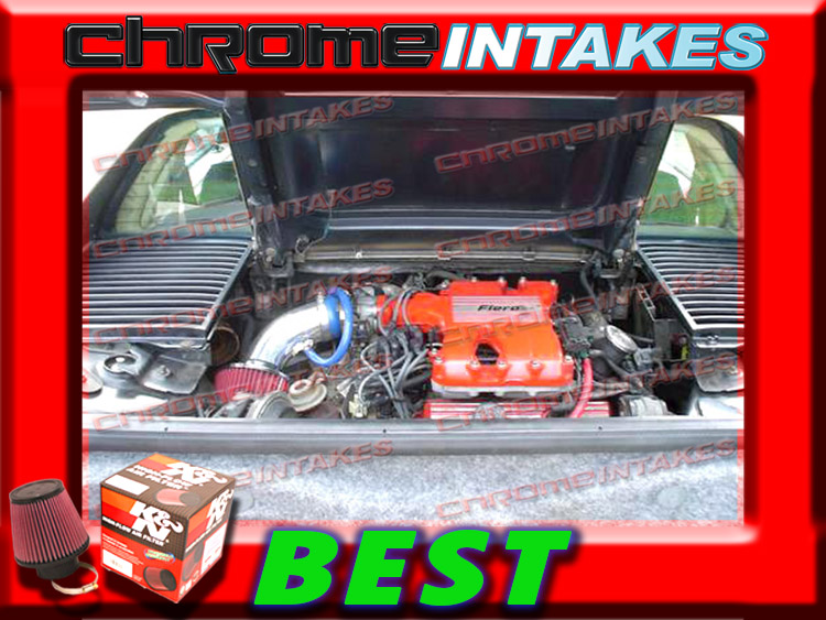 CF RED 84 85-88 PONTIAC FIERO 2.8L V6 WITHOUT CRUISE CONTROL AIR INTAKE