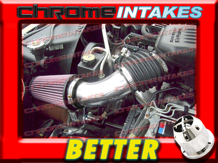 DUAL 99 00 01 02 03 04 JEEP GRAND CHEROKEE//LAREDO 4.7L V8//HO AIR INTAKE KIT Blue
