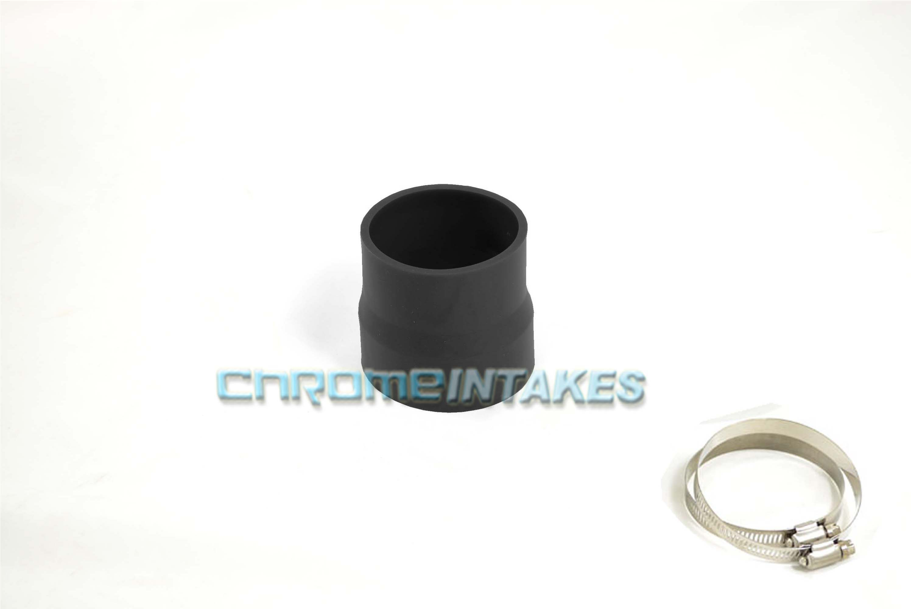 "BLACK 2.5/""-2.75/"" AIR INTAKE//PIPING RUBBER REDUCER COUPLER FOR SUZUKI//SAAB"