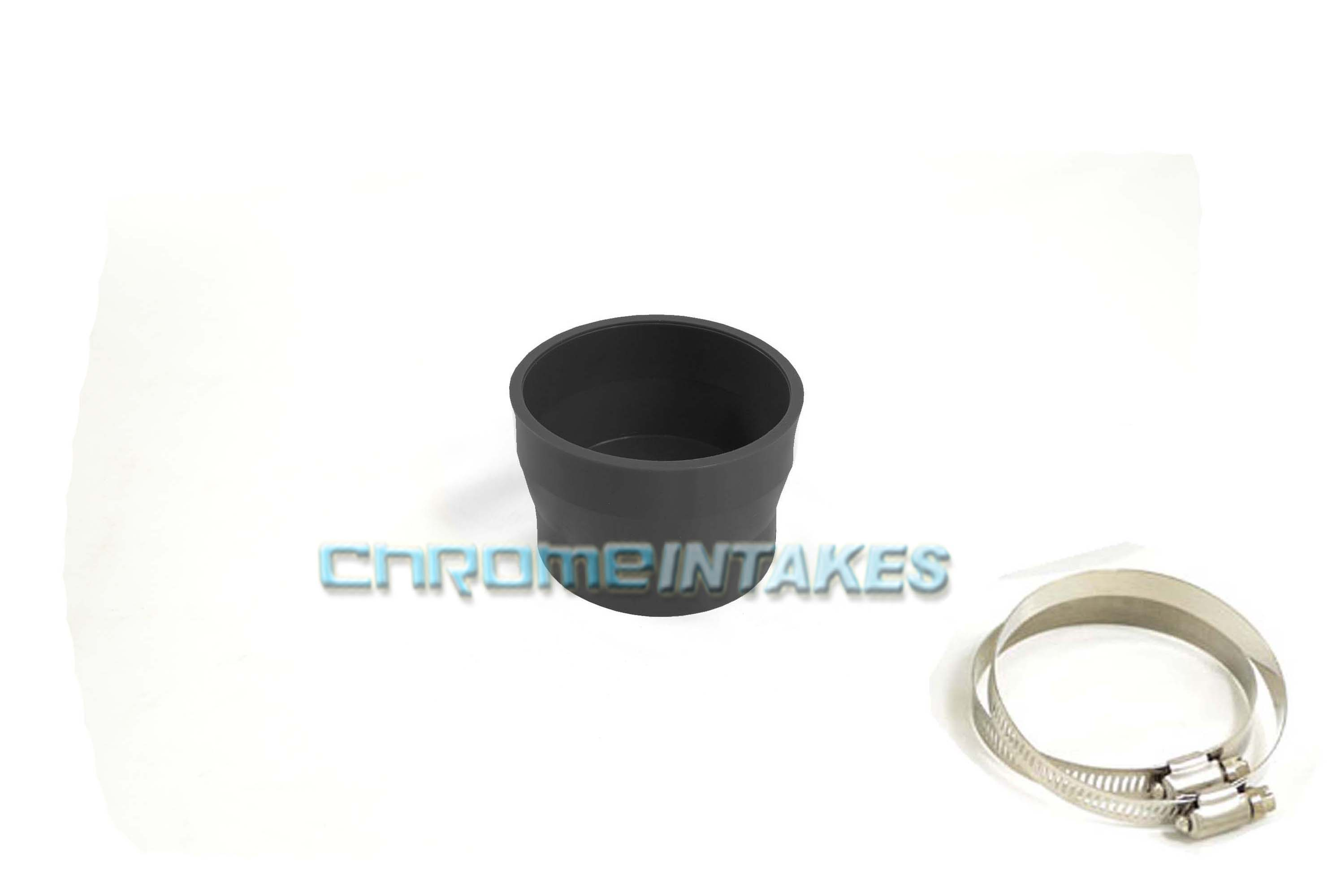 """BLACK 3/""""-4/"""" AIR INTAKE//PIPING RUBBER REDUCER COUPLER FOR VOLVO//JAGUAR"""