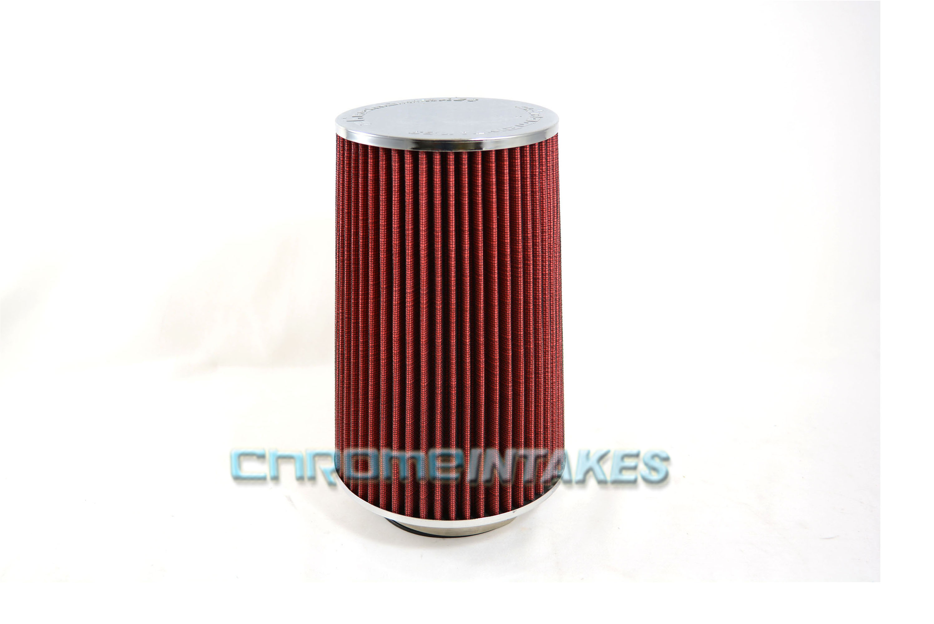 "RED 1990 UNIVERSAL 89mm 3.5/"" SMALL  AIR INTAKE FILTER"