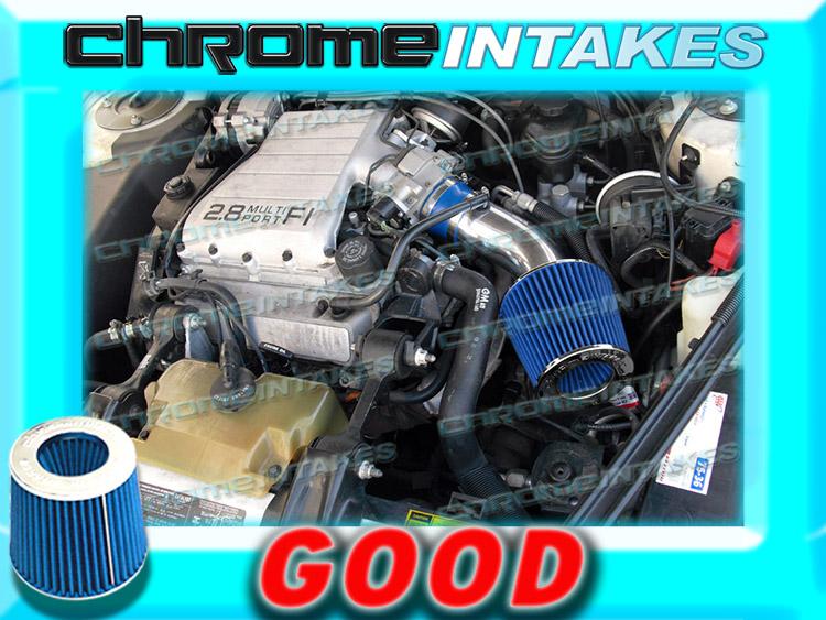 K/&N+RED 94 95 96 1994 1995 1996 OLDSMOBILE CUTLASS CIERA 3.1L V6 AIR INTAKE KIT
