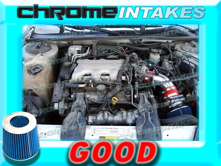BLUE Filter for 90-94 Chevy Lumina 3.1L V6 Short Ram Air Intake Kit