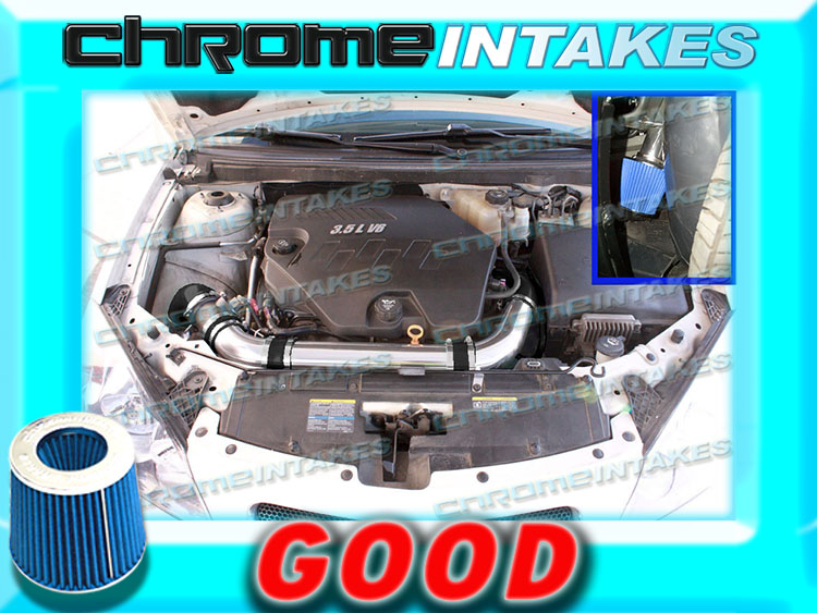 K/&N+BLUE RED 07 08-11 CHEVY MALIBU//PONTIAC G6 3.6 3.6L V6 FULL AIR INTAKE KIT