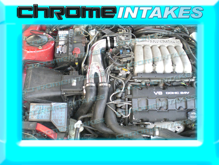 K/&N+BLACK RED 91-99 MITSUBISHI 3000GT GTO//DODGE STEALTH N//T 3.0L AIR INTAKE KIT