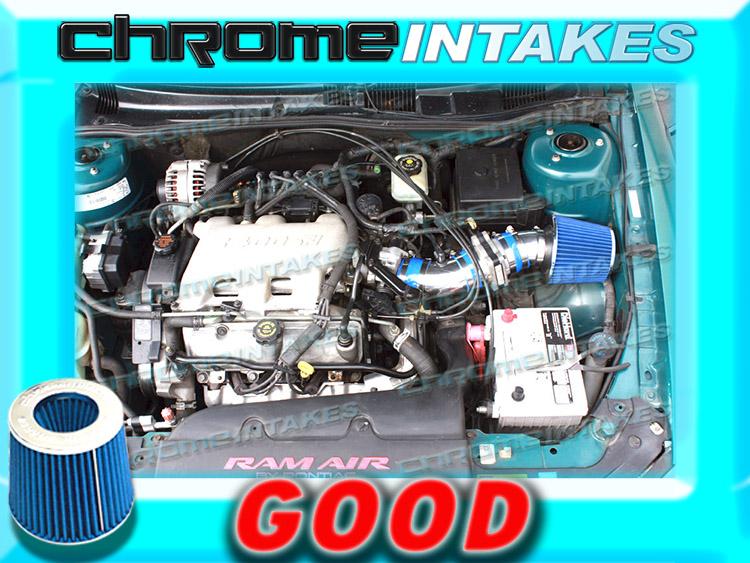 BLUE RED 94 95//1994 1995 PONTIAC GRAND PRIX 3.4L V6 AIR INTAKE KIT