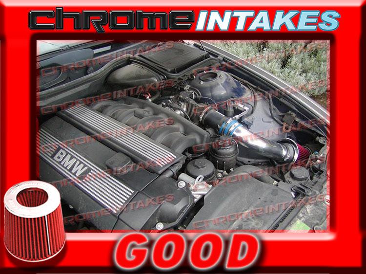 98 99 00 01 02-05 BMW 325 328 330 i 325i 328i 330i all models E46 AIR INTAKE Red