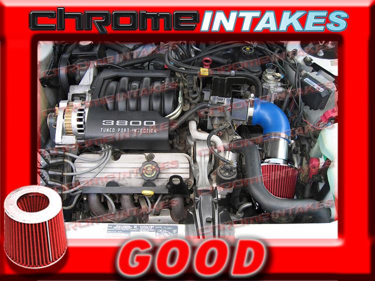 CF RED 1994 1995 1996 OLDSMOBILE CUTLASS CIERA 3.1 3.1L V6 AIR INTAKE KIT
