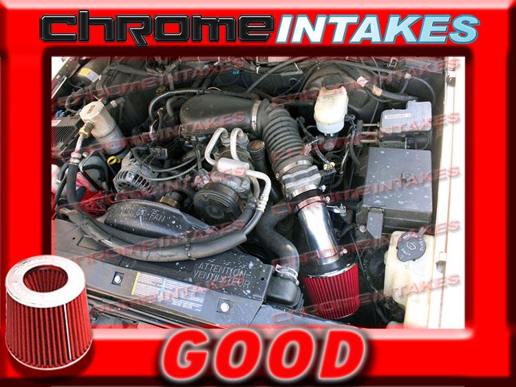 96-04 CHEVY S10 S-10 PICKUP//ZR5//ZR2//XTREME//LS//SS 4.3 4.3L V6 AIR INTAKE