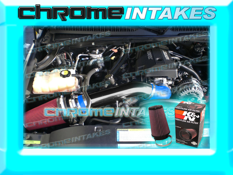 K/&N+RED 99 00-07 CHEVY//GMC//CADILLAC TRUCKS//SUVS 4.8//5.3//6.0//8.1 V8 AIR INTAKE
